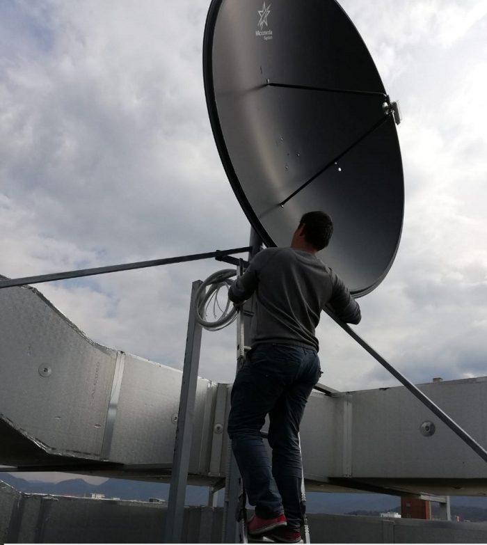Reglaj service repozitionare antena satelit 240cm Brasov