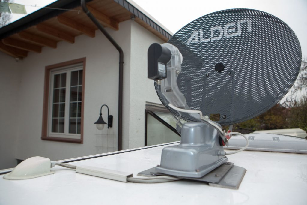 antena autocaravana