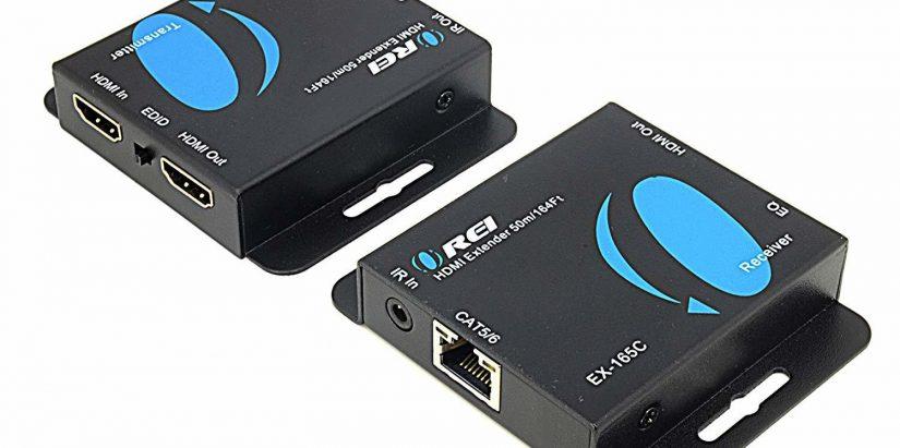 extender hdmi cat6 pentru distributie video