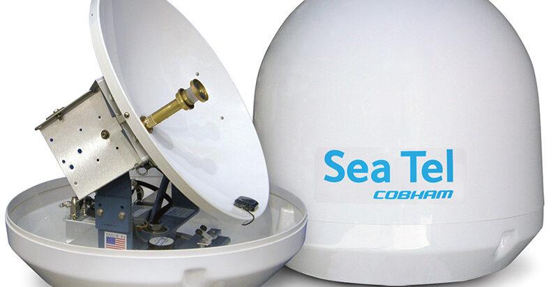 antena satelit pentru barci,yaht-uri,vase comeriale,vase de cruaziera